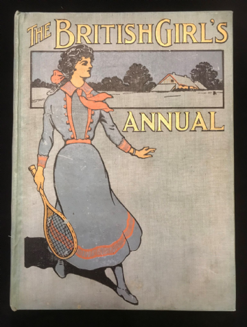 The British Girls Annual 1912 Antiquarian Childrens Book
